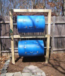 Double Decker Drum Composter