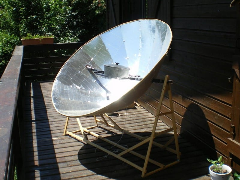 Parabolic Solar Oven Page 1