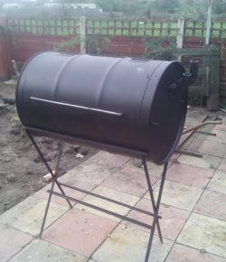 No-Weld Drum BBQ Smoker