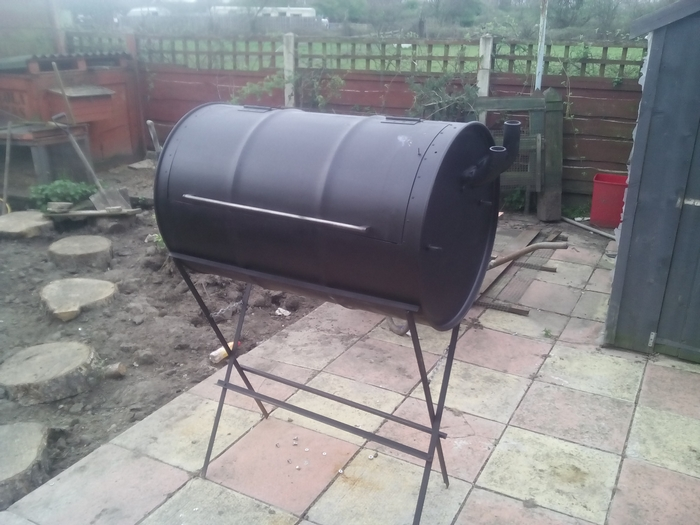 how to build your own no weld drum bbq smoker your projects obn