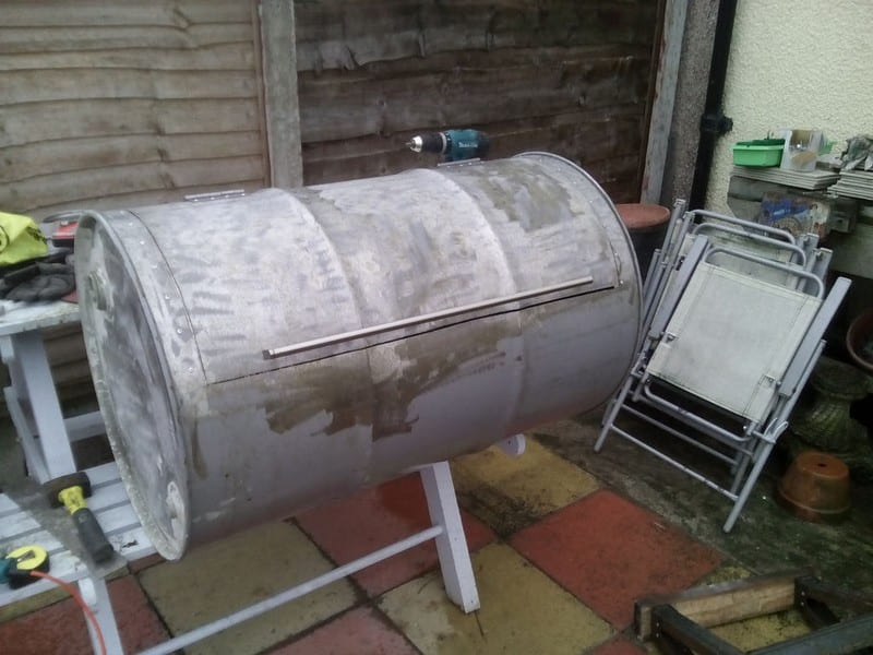 How To Build Your Own No Weld Drum Bbq Smoker Page 1