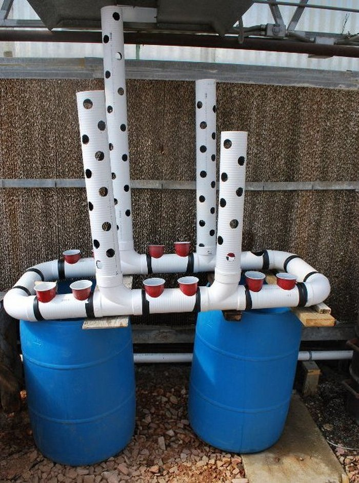 Gravity-Based Aquaponic System