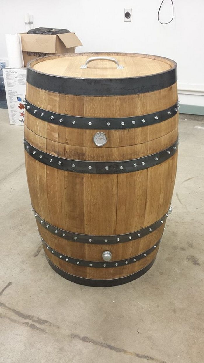 How To Build A Whiskey Barrel Bbq Smoker Your Projects Obn