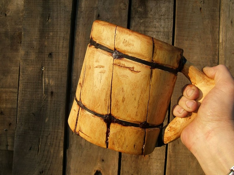 Make a bushcraft beer mug!