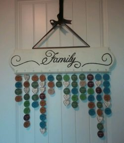 DIY Hanging Birthday Calendar