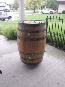 How to build a whiskey barrel BBQ smoker