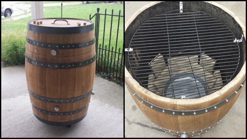 How to build a whiskey barrel BBQ smoker | Your Projects@OBN