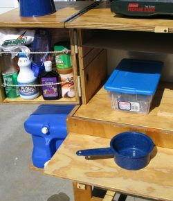 DIY Potable Camp Kitchen