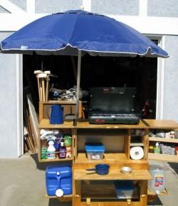 Portable Camp Kitchen