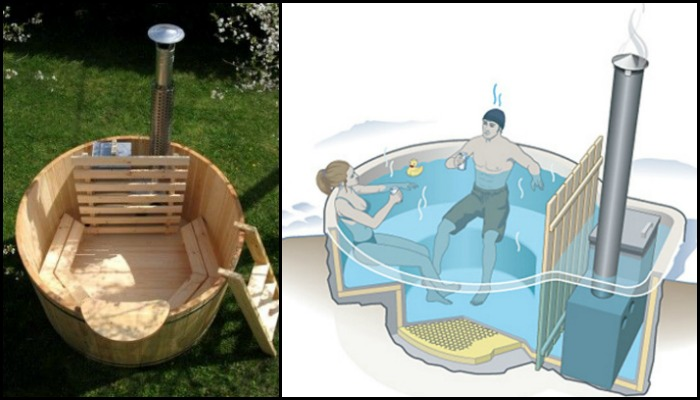 Build your own hot tub!