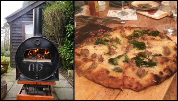 Turn an oil drum barrel into a pizza oven!