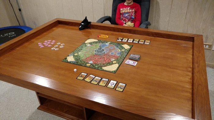 Build Your Own Gaming Table With Plenty Of Storage Your Projects Obn