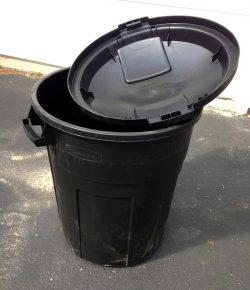 Garbage Can Rain Barrel