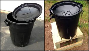 Garbage Can Rain Barrel