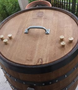 Whiskey Barrel BBQ Smoker