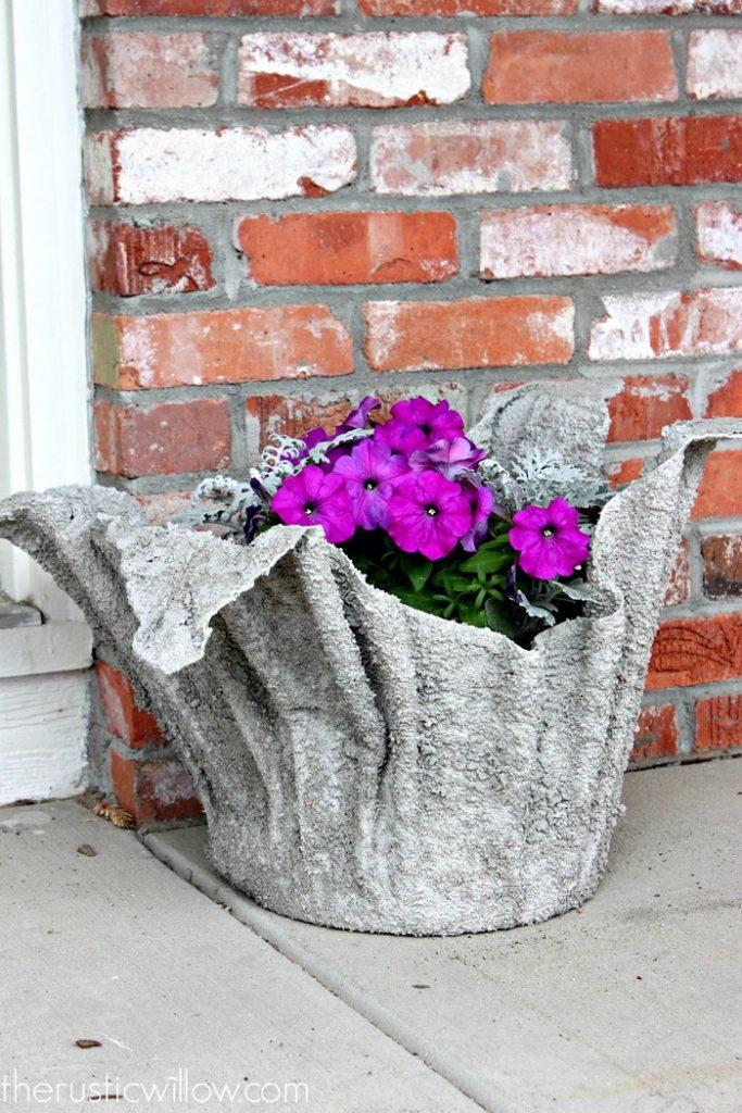 Concrete Towel Planter