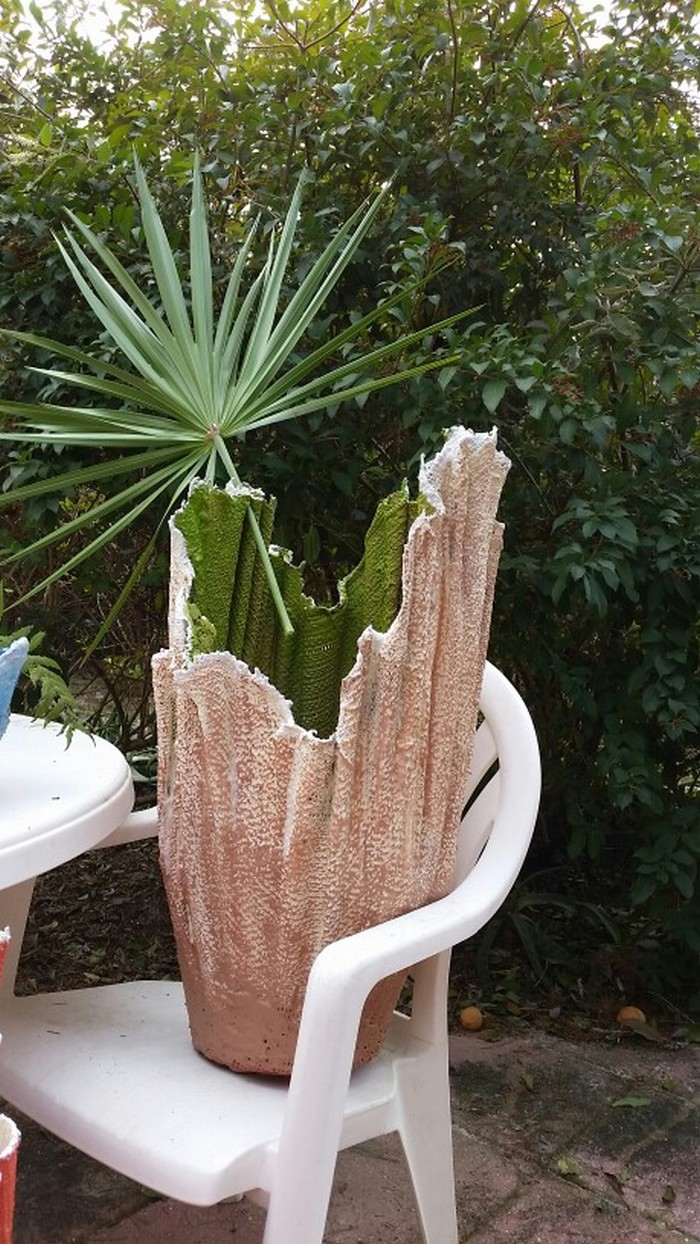 make a gorgeous planter with an old towel   u2013 your projects obn