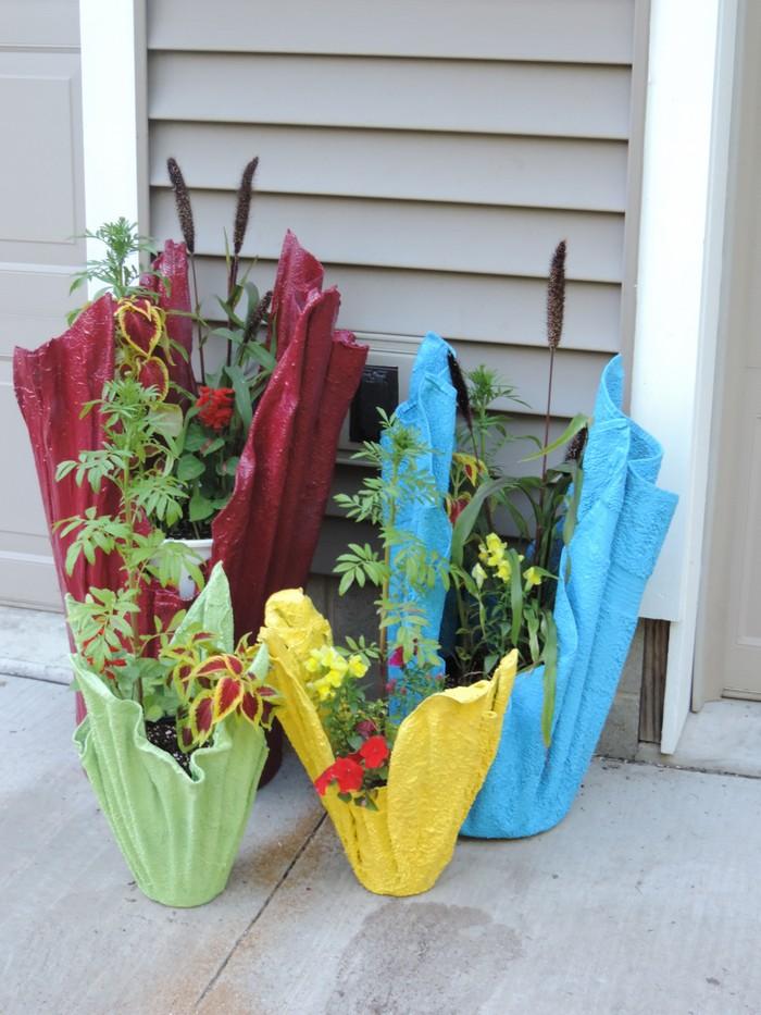 Как сделать вазон для цветов