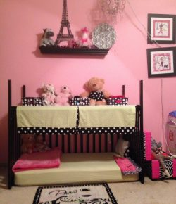 From a baby crib to a toddler bed