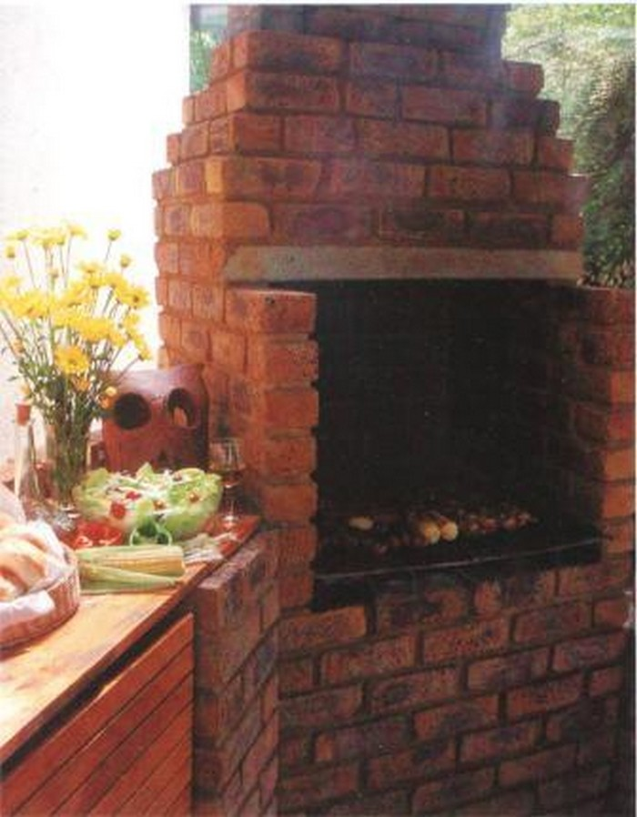 Build your own brick barbecue your projects obn - Building your own brick smokehouse in easy steps ...