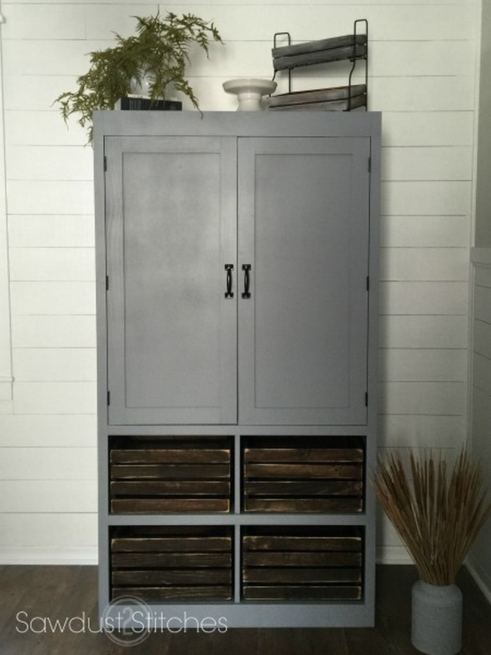A Freestanding Pantry For Small Spaces Your Projects Obn