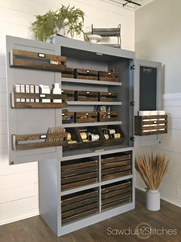 Free Standing Kitchen Design Ideas ~ A freestanding pantry for small spaces your projects obn