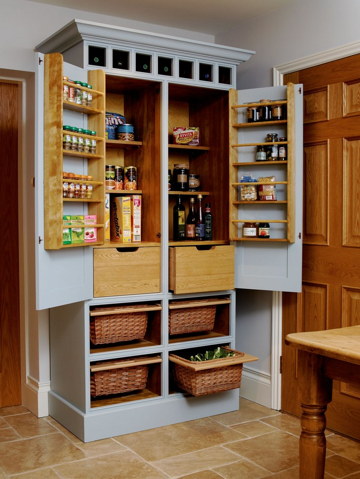 building a pantry unit cabinet | A freestanding pantry for small spaces! – Your Projects@OBN