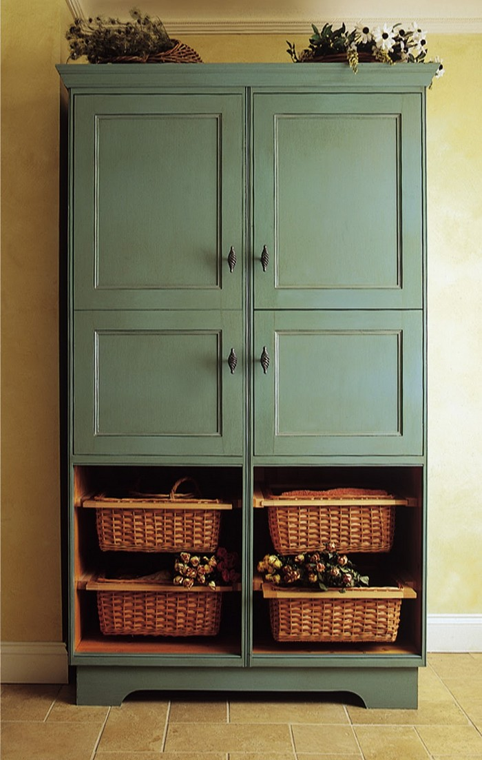 A freestanding pantry for small spaces your projects obn for Kitchen pantry cabinet plans