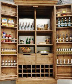 DIY freestanding pantry