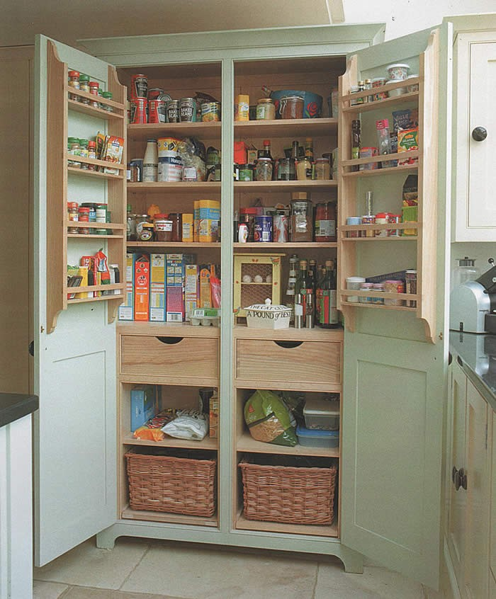 A freestanding pantry for small spaces your projects obn - Kitchen pantry free standing ...