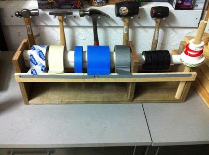 Organize Your Workshop With This Easy Diy Multiple Roll