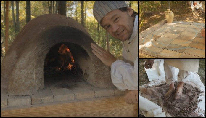 Enjoy homemade bread and pizza by building a low-cost earthen oven