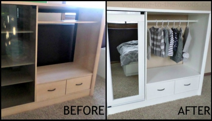 Entertainment Center Kids Armoire