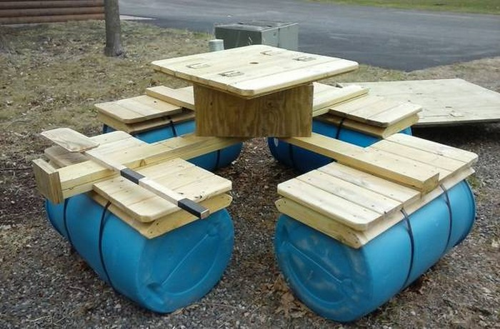 Build an awesome floating picnic table | Your Projects@OBN