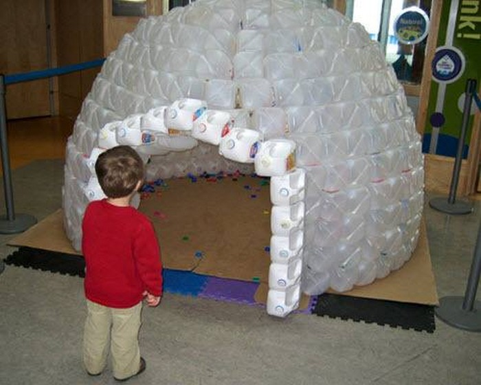 build a milk jug igloo for the kids your projects obn