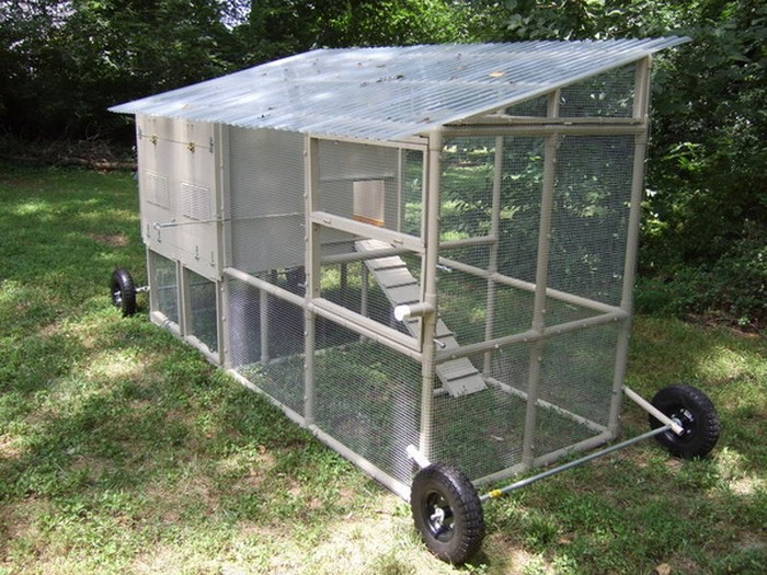 Build Pvc Chicken Tractor : Build a pvc chicken tractor your projects obn