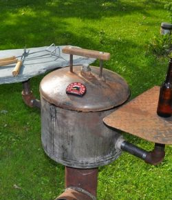 DIY Rocket Grill