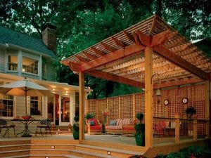 A good deck can make a house a home...
