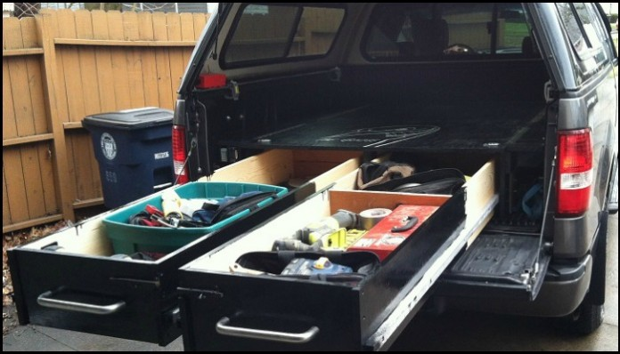 Learn how to install a sliding truck bed drawer system!