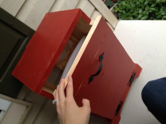 Hide Your Trash Bin By Building A Tilt Out Trash Cabinet