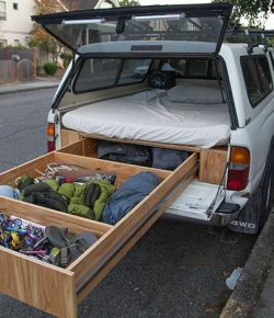 Truck Bed Drawer System