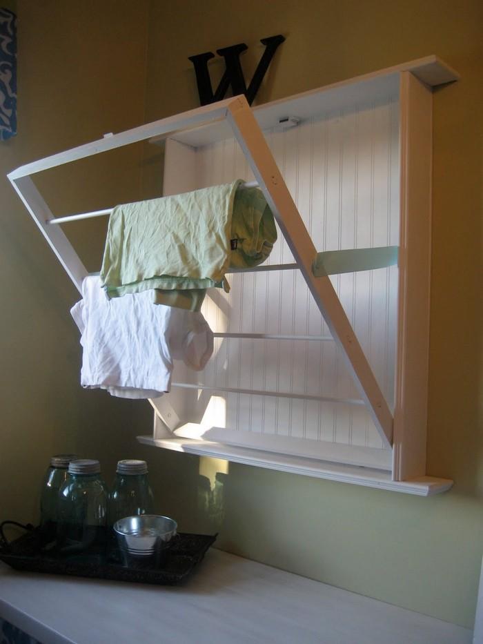 Wall Mounted Drying Rack
