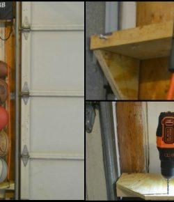 Bungee Cord Ball Storage