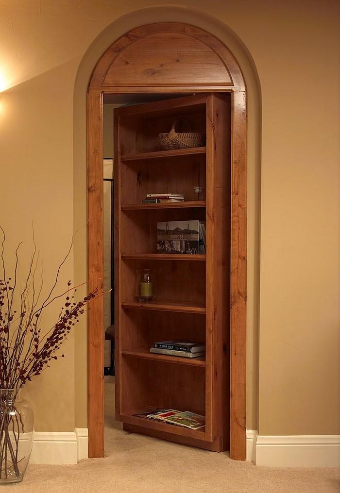 title | Bookshelf With Doors