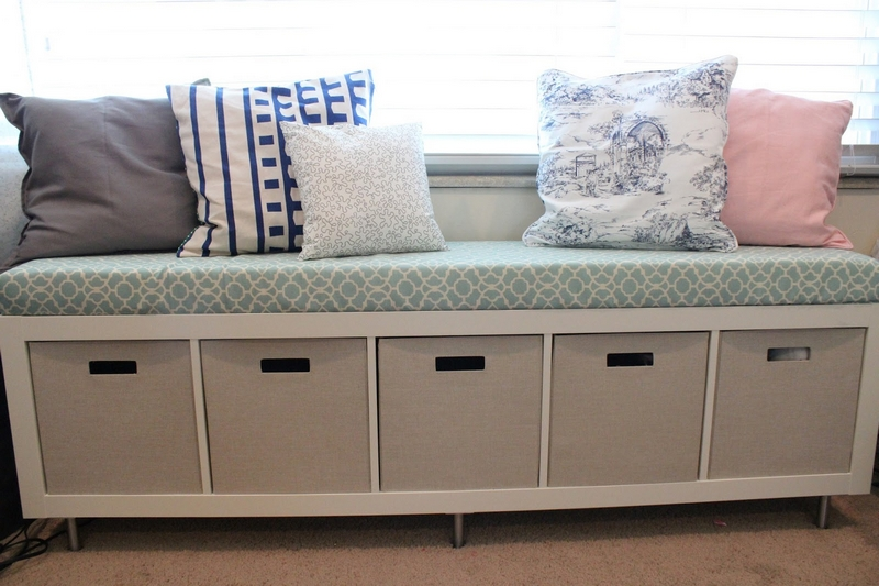 Build a storage bench from a repurposed bookshelf! - Your ...