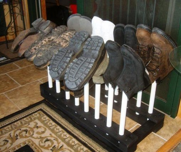 Build your own customized boot rack!