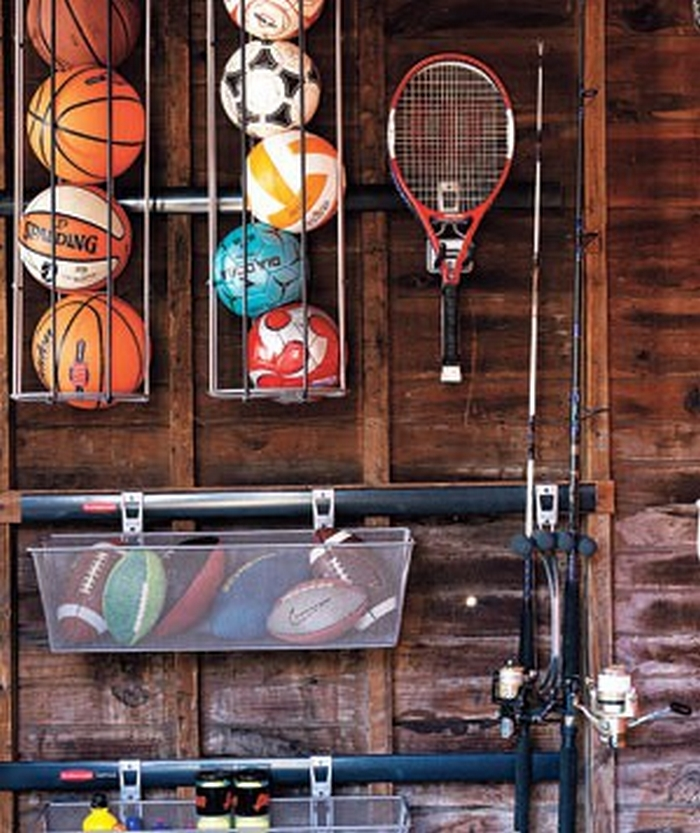 Garage Sports Organizer: Organize All Those Sports Balls At Home By Building This