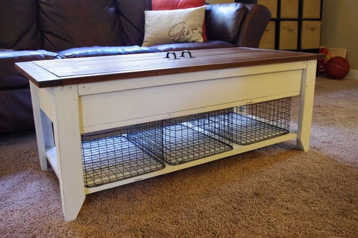 Coffee Table And Lego Storage In One Your Projects Obn