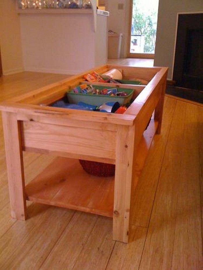 Coffee table and Lego storage in one Your ProjectsOBN