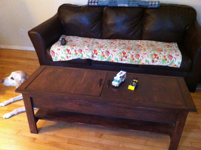 coffee table and lego storage in one your projects obn. Black Bedroom Furniture Sets. Home Design Ideas